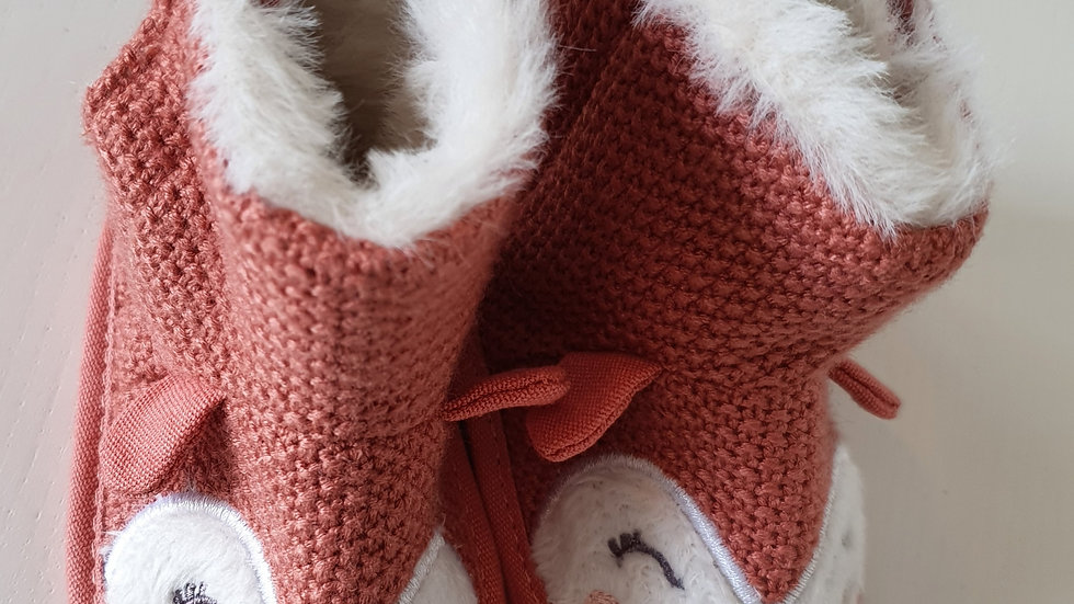3-6 Month  Slipper Boots (Pre-loved)
