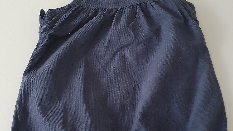 12-18  Month  TU Cord Short Dungarees (Pre-loved)