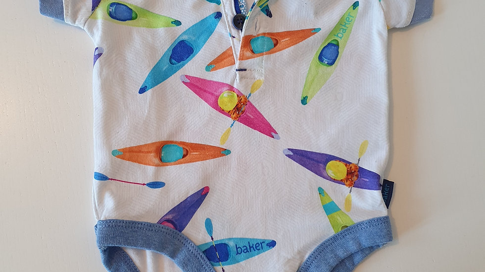 0-3  Month  Ted Baker T-shirt vest (Pre-loved)