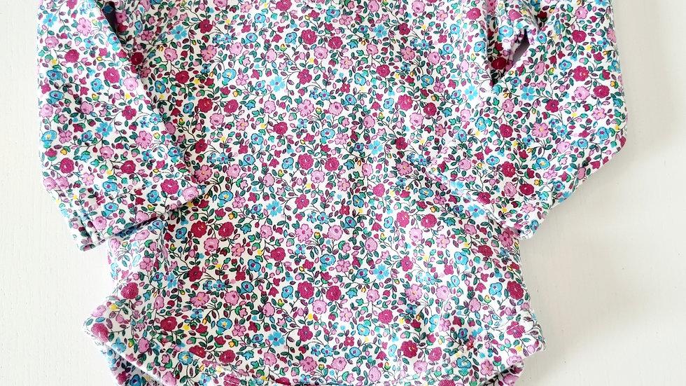 3-6  Month  Jojo Mama Bebe Long sleeve  Bodysuit (Pre-loved)