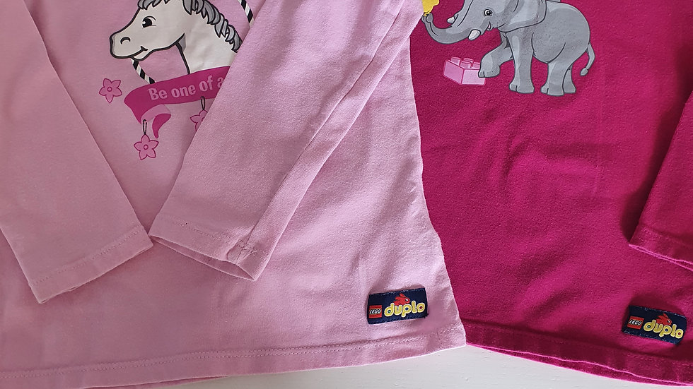 18-24 Month Lego Wear 2 pack Tops (Pre-loved)