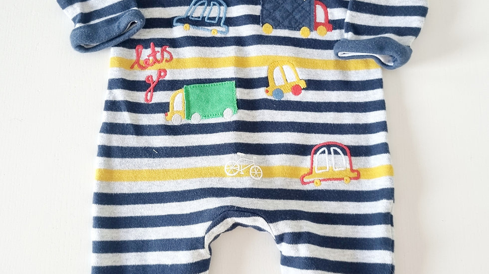 0-3 Month Mothercare All in one outfit (Pre-loved)