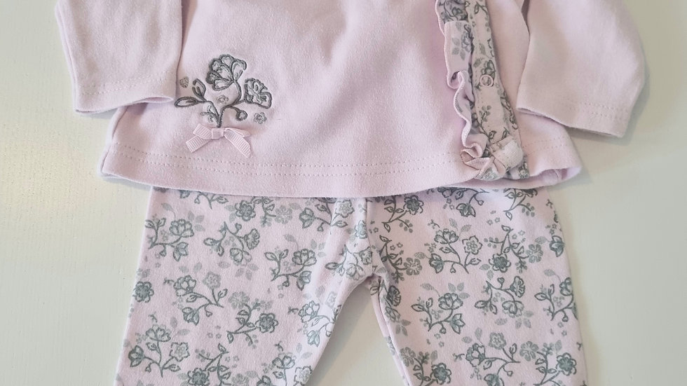 0-3m Laura Ashley Outfit (Preloved)