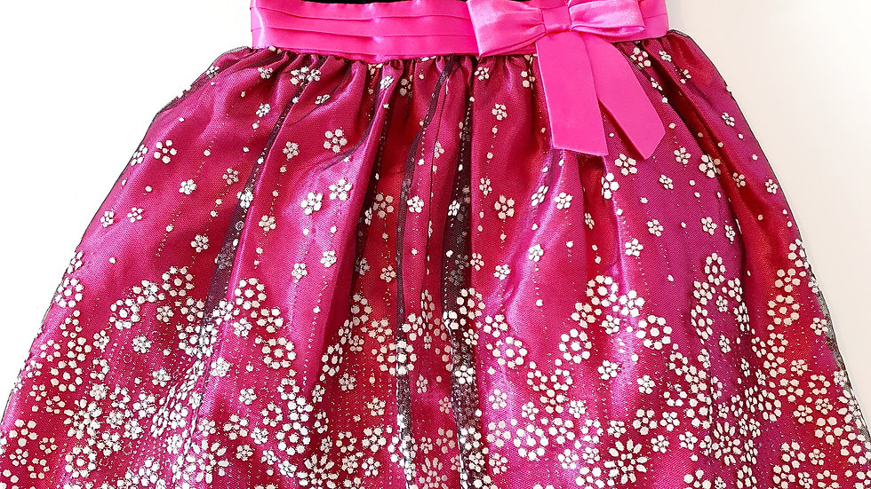 2 Years  Love Dress with front & Back Bows (Pre-loved)