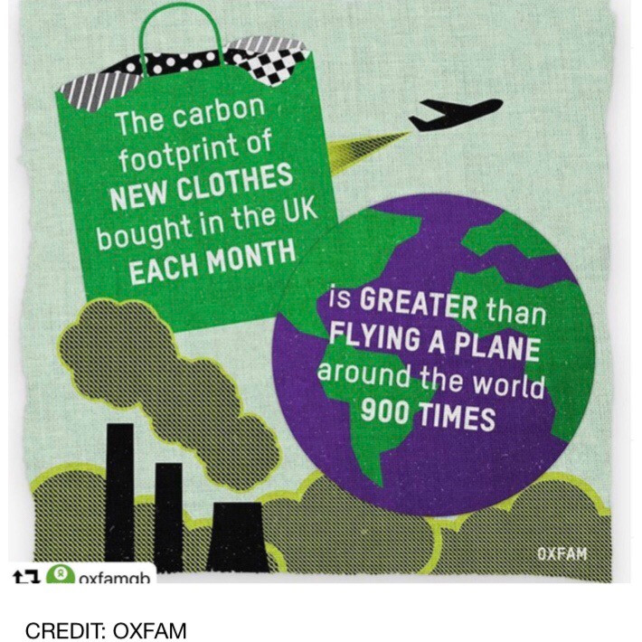 carbon footprint of clothes shopping