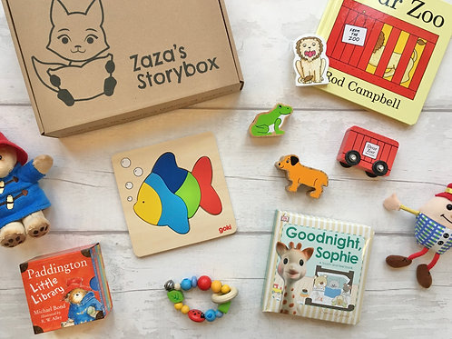 Baby and Toddler Storybox Book Subscription