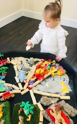 'Dear Zoo' Sensory Play