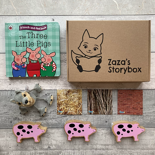 Three Little Pigs Story Sack