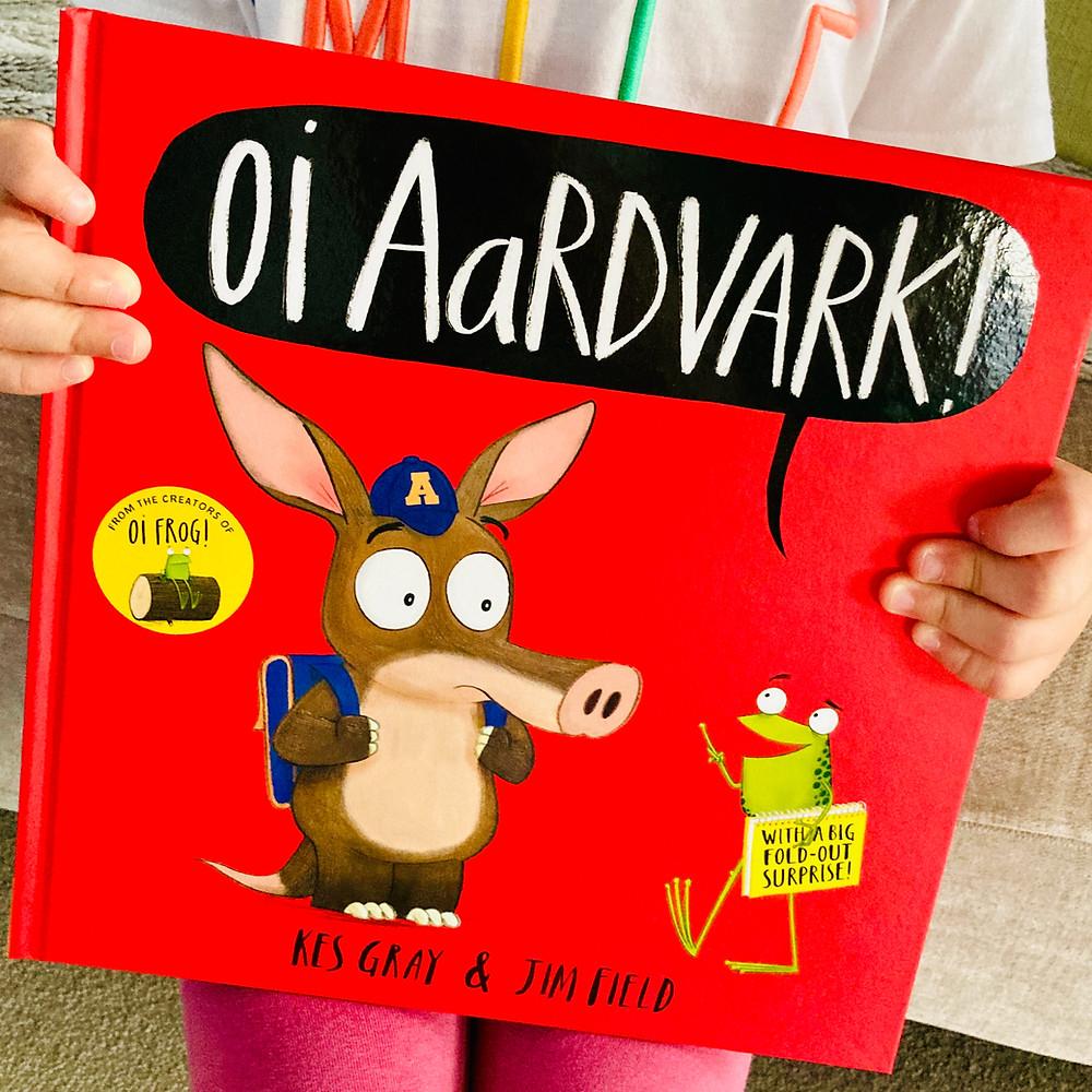 Oi Aardvark! Book Cover