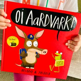 Oi Aardvark! Book Review and Blog Tour