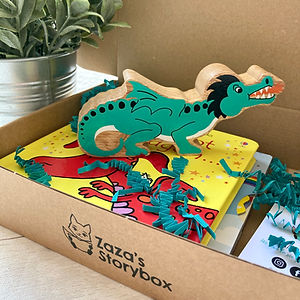 Dragon Storybox, That's Not My Dragon. Wooden Toys, Storybag, Storysack