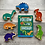 Follow that Dinosaur Board Book Gift for Toddler