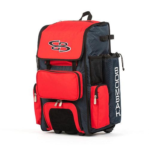 SW Custom Boombah Rolling Bat Bag