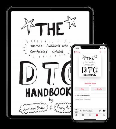 The DTO Handbook Digital download and Audio Version Combo