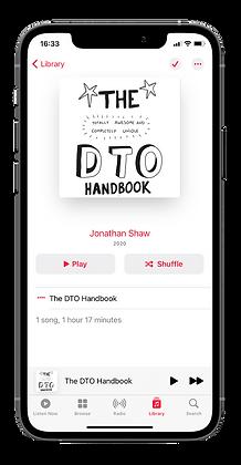 DTO Handbook Audio Version