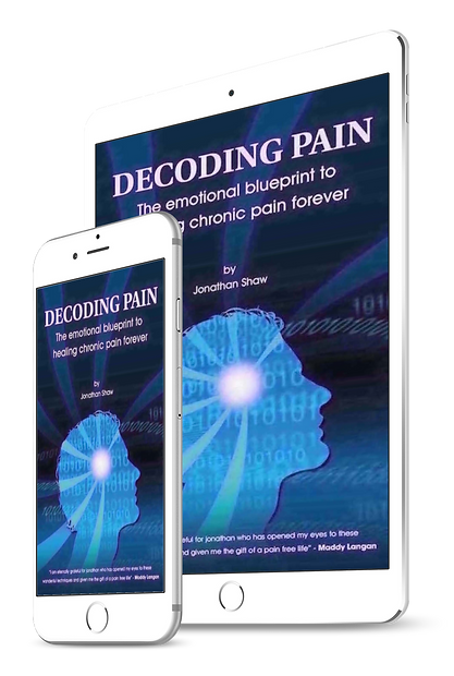 Jonathans book about solving chronic pain on mobile devices