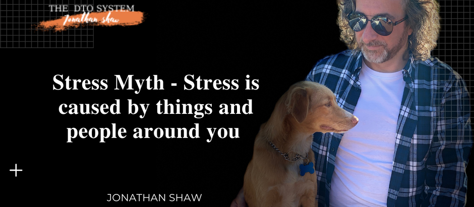 Stress Myth - Stress is caused by things our outside world
