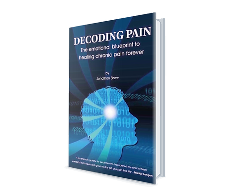 Jonathans book about how he solves chronic pain when no one else can
