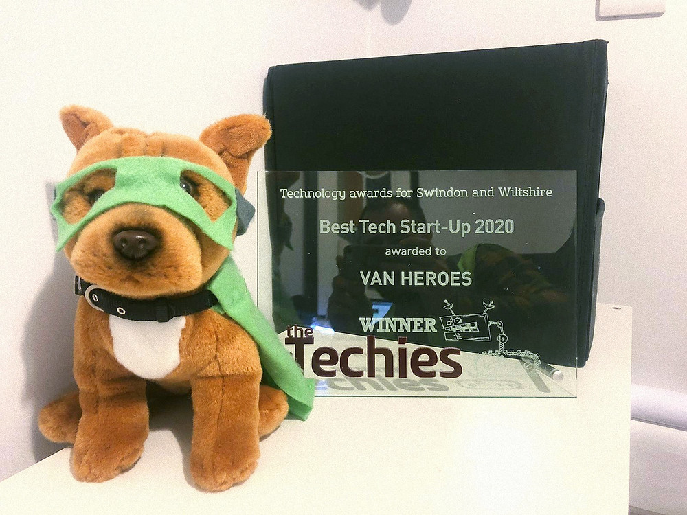 VANHEROES The Techies Awards Swindon & Wiltshire Best Tech Startup