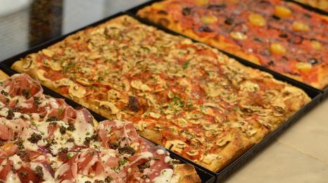 Plaque Pizza Marguerite 24 parts