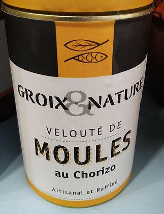 VELOUTE DE MOULES AU CHORIZO