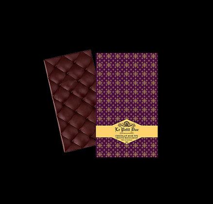 Tablette Chocolat Noir 70% Origine Madagascar