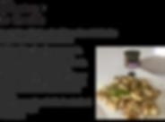 Gnocchi aubergines olives noires coriand
