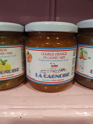 CONFITURE COURGE ORANGE - LA CAGNOISE