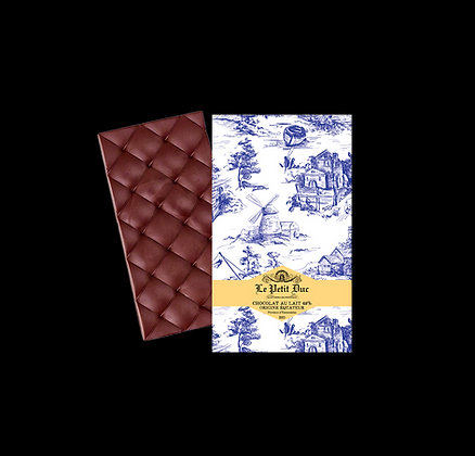 Tablette Chocolat au Lait 48% Equateur Esmeralda