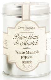Poivre de Muntok blanc