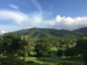 view over Monlada Khaoyai property