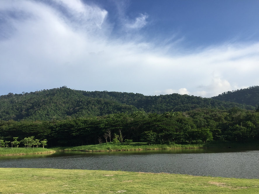 lagoon view next to Khaoyai national park