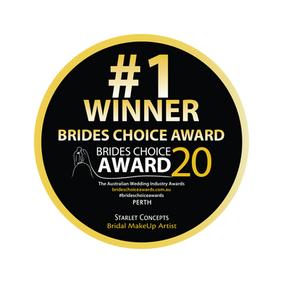 Awarded Bride's Choice Winner