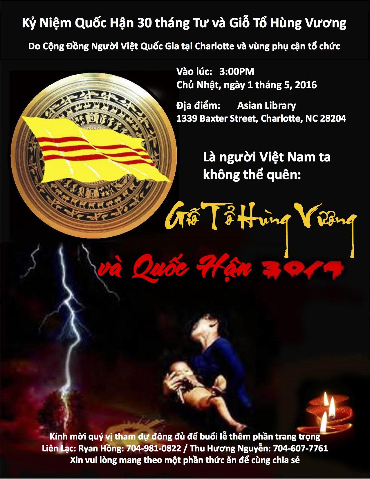 2016 Fall of Saigon Commemoration