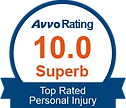 avvo badge top rated personal injury attorney michael p. kenny