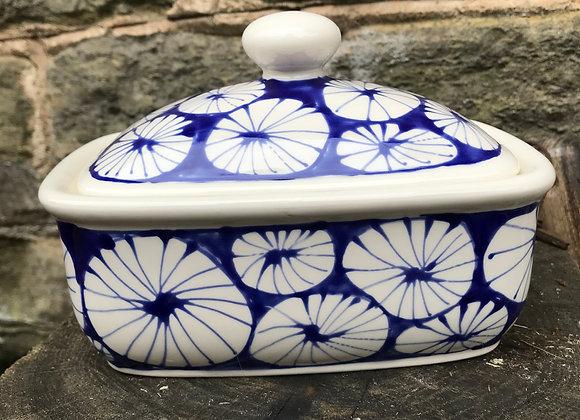 Blue Urchin  butter dish