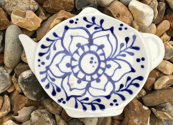 Blue Fleur Tea Tidy