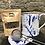 Thumbnail: Blue Splatterware tea bag tidy