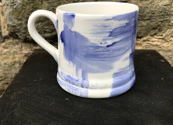 Blue Strokes Regular Mug