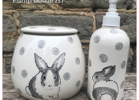 Dotty Rabbit Storage Jar