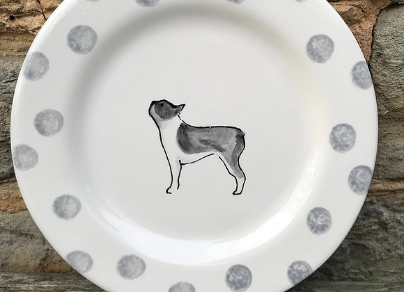 Dotty Dog Side Plate