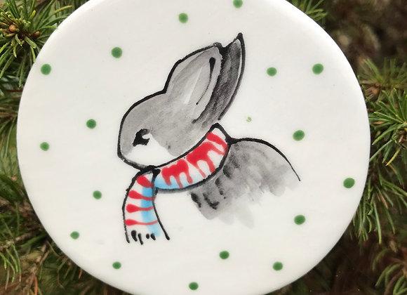 Rabbit Christmas decoration