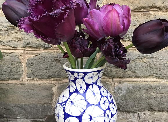 Blue Urchin Amberley Vase