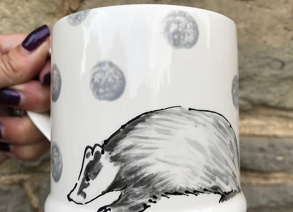 Wildlife Regular Badger Mug