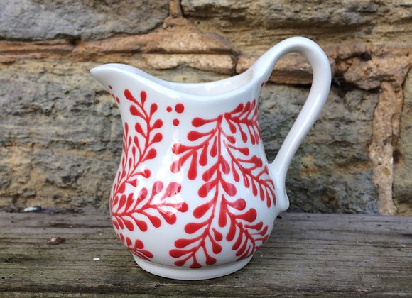 Mulberry red baby curvy jug