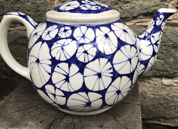 Blue Urchin Teapot