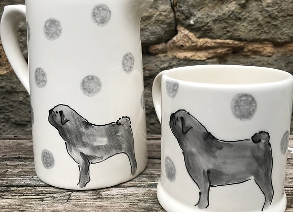 Dotty Dog Small Farmhouse  Jug