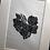 Thumbnail: Framed Lino Cut Rose Love Heart