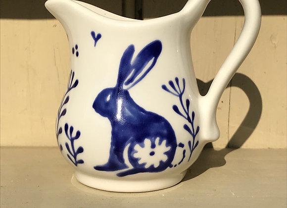 Blue Bunny baby curvy jug