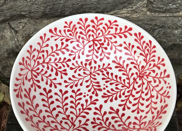 Mulberry Red Cereal Bowl